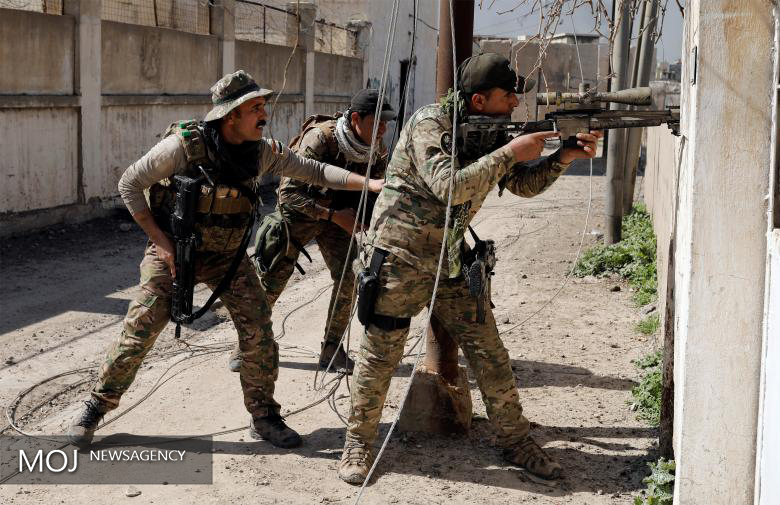 نیروهای ارتش عراق در موصل