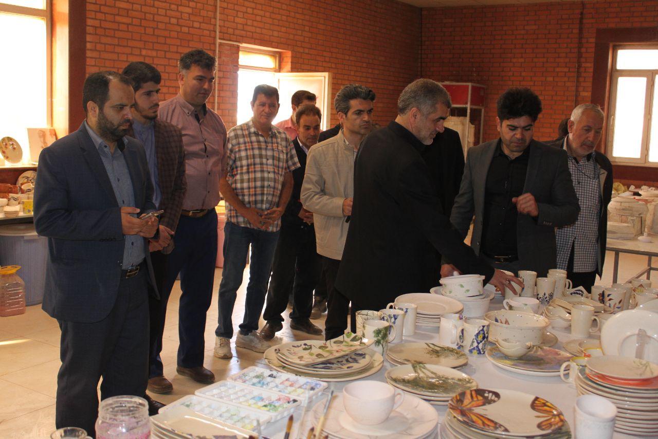 بازدید علی نیکزاد
