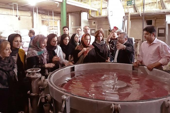 تور صنعتی خوشه فرش لرستان به آذربایجان شرقی