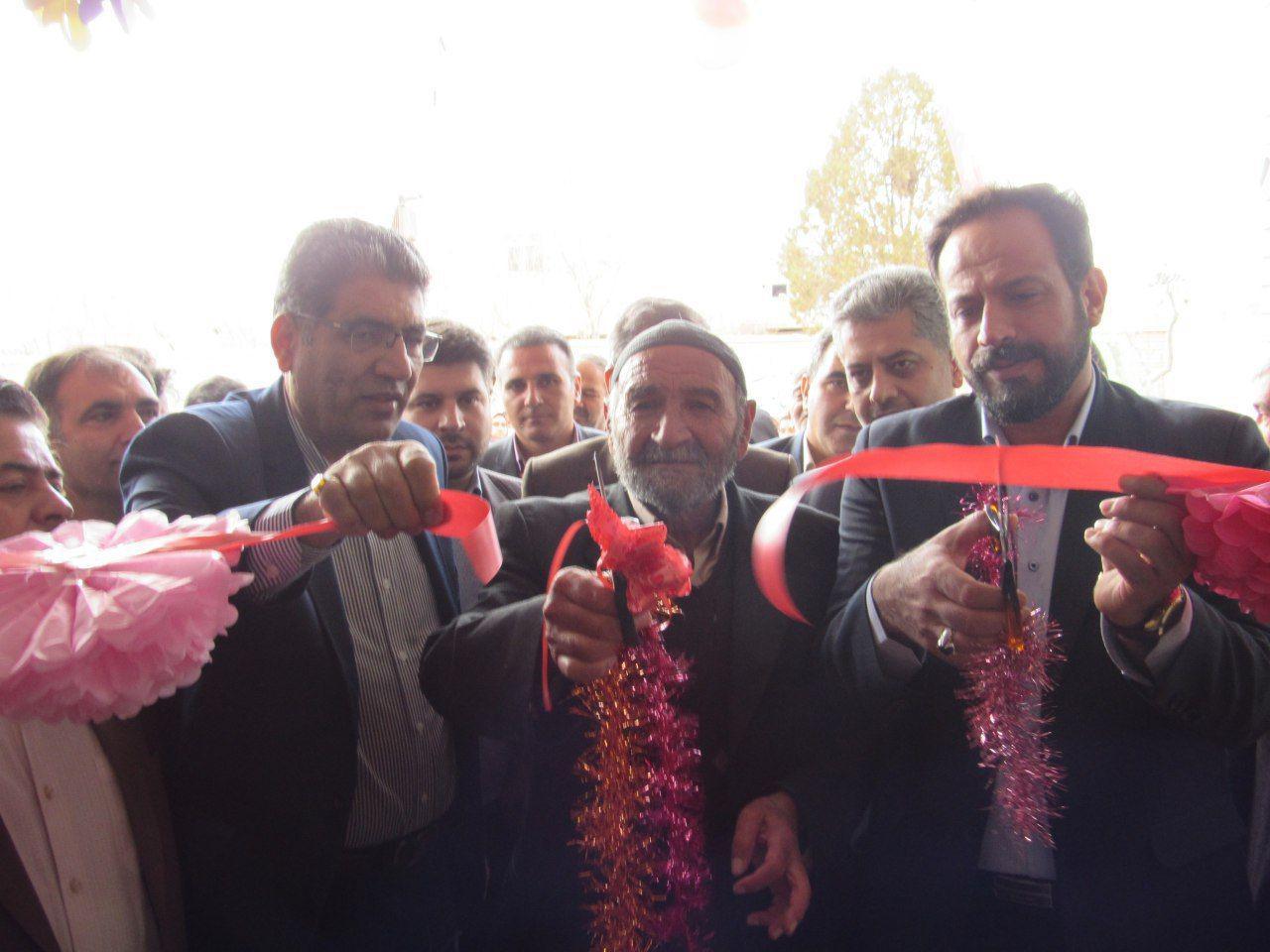 اصفهان- افتتاح مدرسه خیر ساز