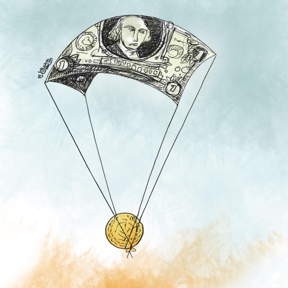 تک نرخی شدن 4200 تومانی دلار