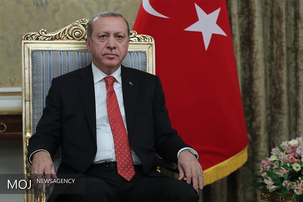اردوغان/ مراسم استقبال رسمی از رییس جمهور ترکیه