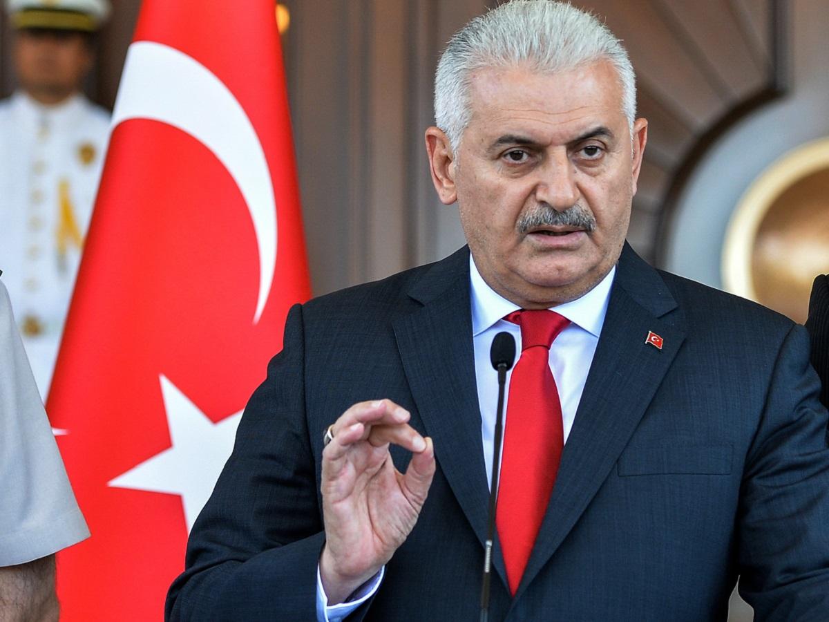 اظهارات نخست وزیر ترکیه در مورد حمله نظامی ترکیه به شمال عراق