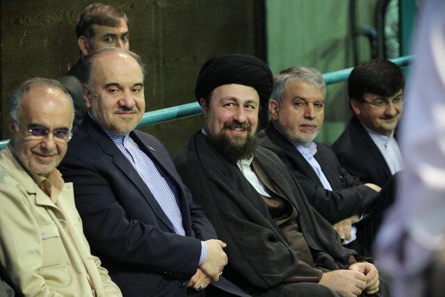 سلطانیفر در دیدار با سید حسن خمینی