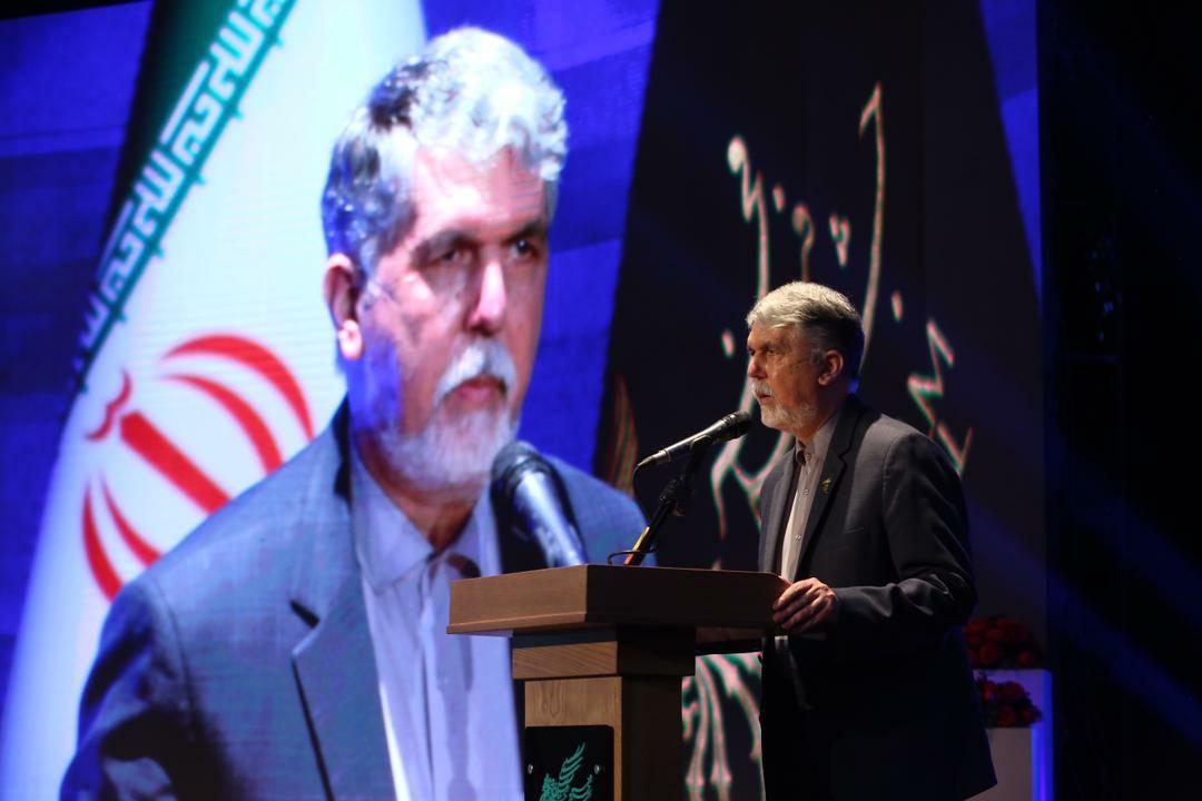 وزیر ارشاد در اختتامیه جشنواره فیلم فجر