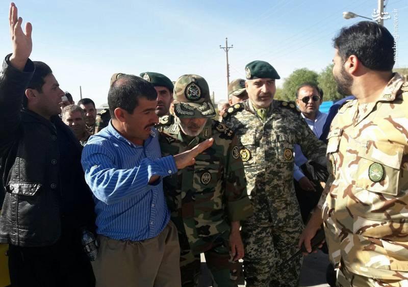 فرمانده ارتش در پلدختر