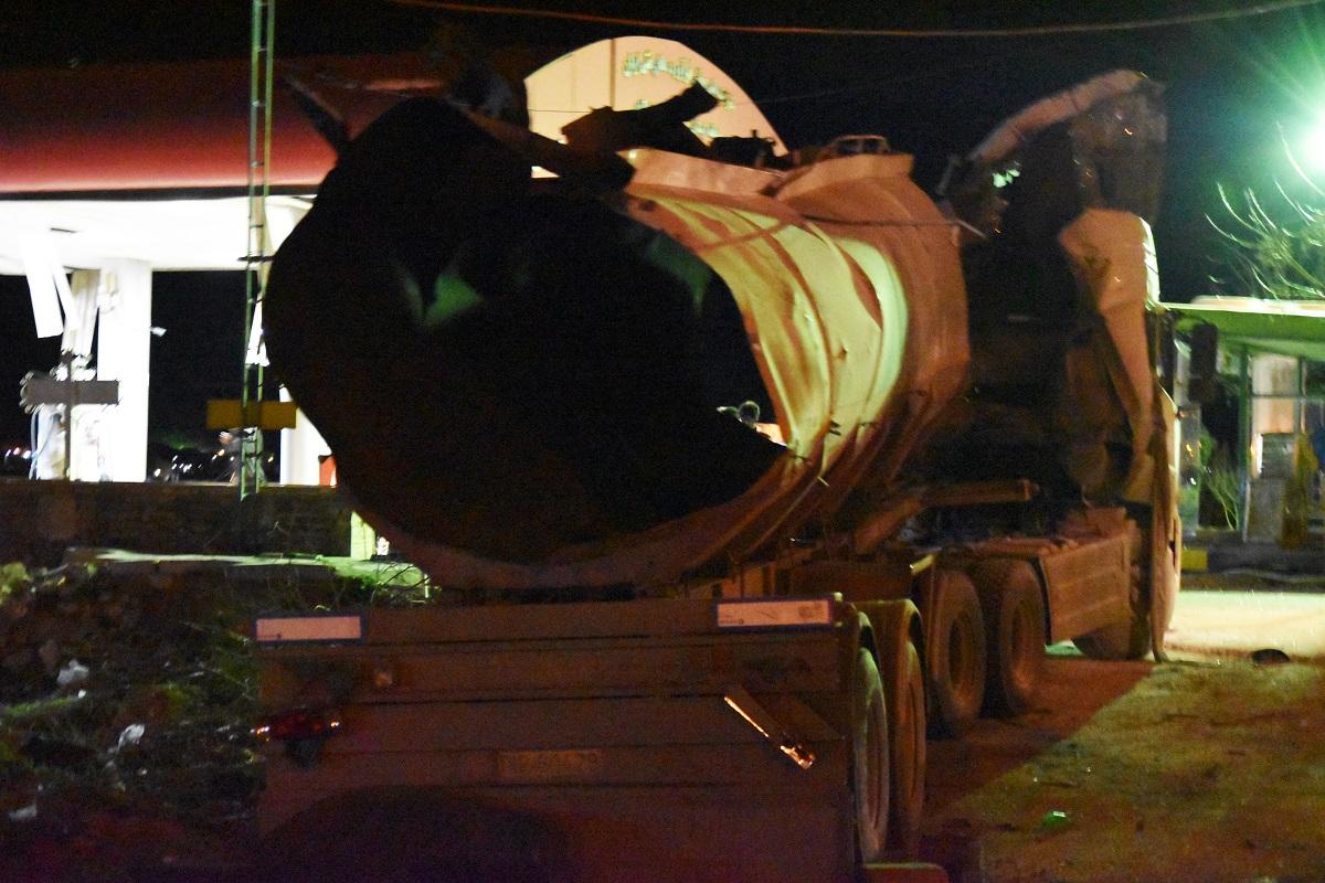 انفجار تانکر حمل سوخت در خرمآباد