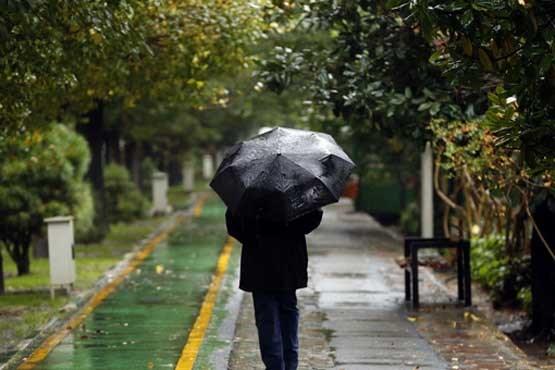 اصفهان- بارش باران