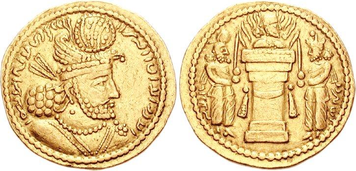 سکه دوران ساسانی