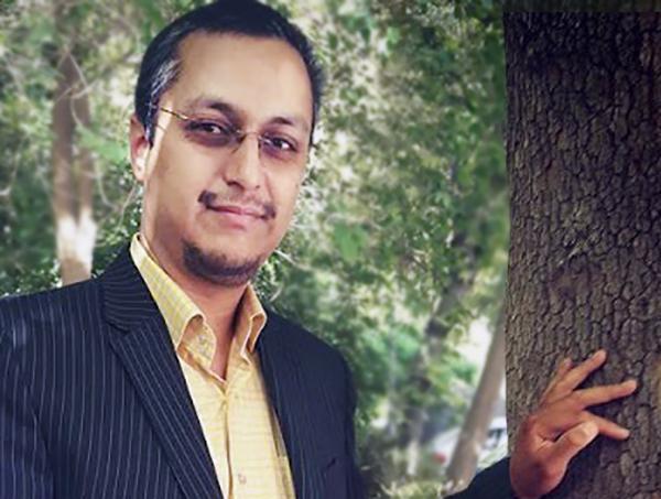 سید هادی کسائی زاده نویسنده کتاب خبرنگار حرفه ای
