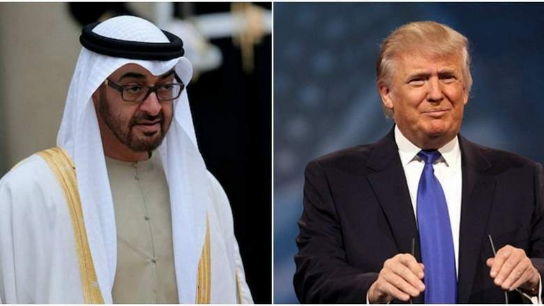 تماس تلفنی رهبران آمریکا و امارات