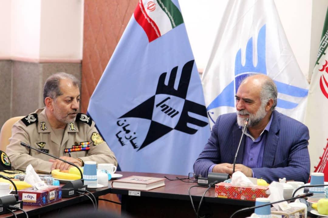تفاهم نامه همکاری های مشترک سازمان سما با نیروی زمینی ارتش3