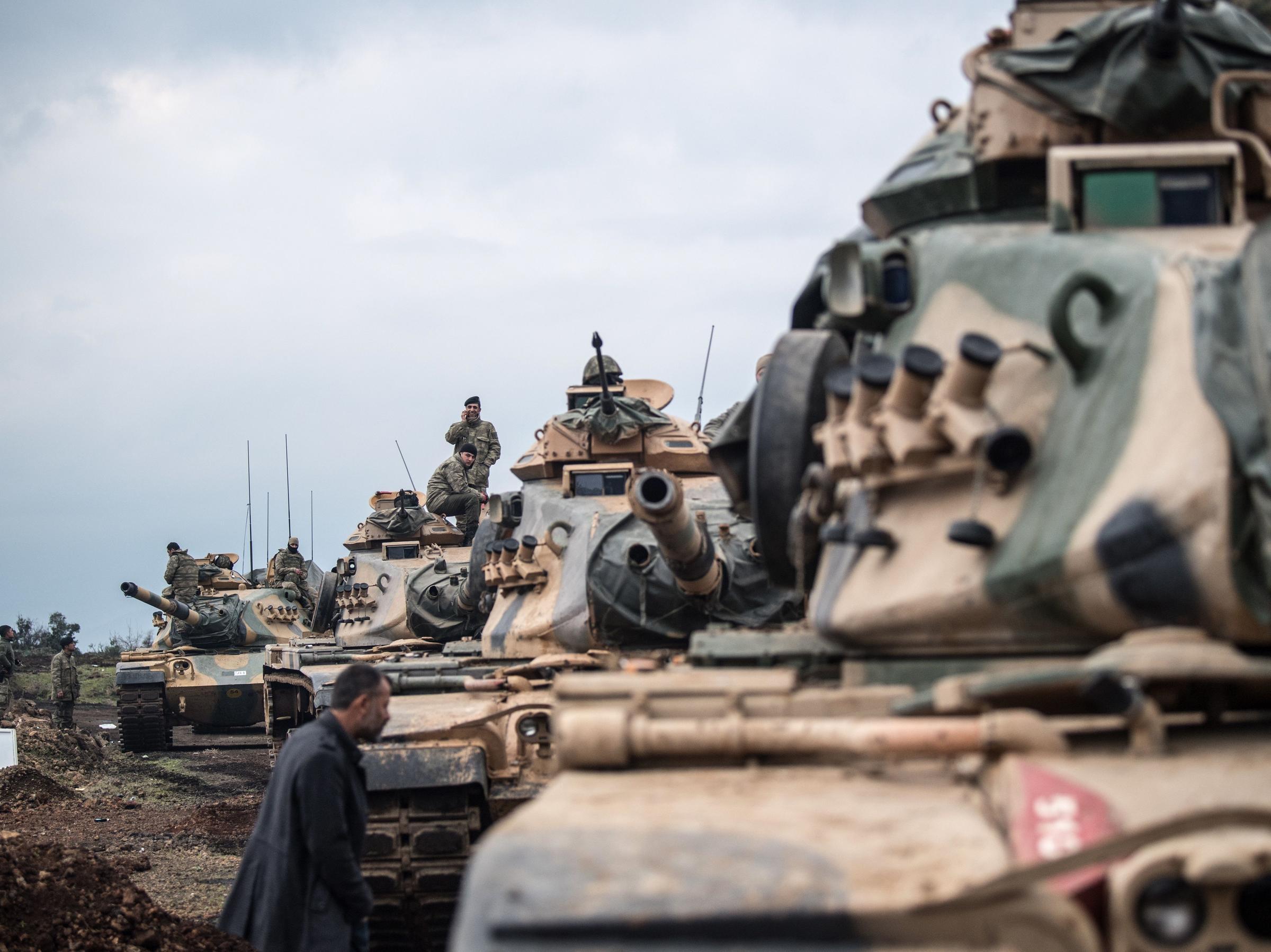 نظامیان ترکیه در سوریه