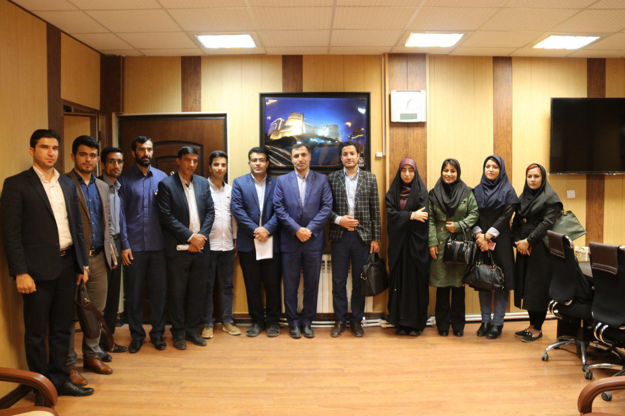 نشست خبری شهردار خرم آباد با اصحاب رسانه لرستان