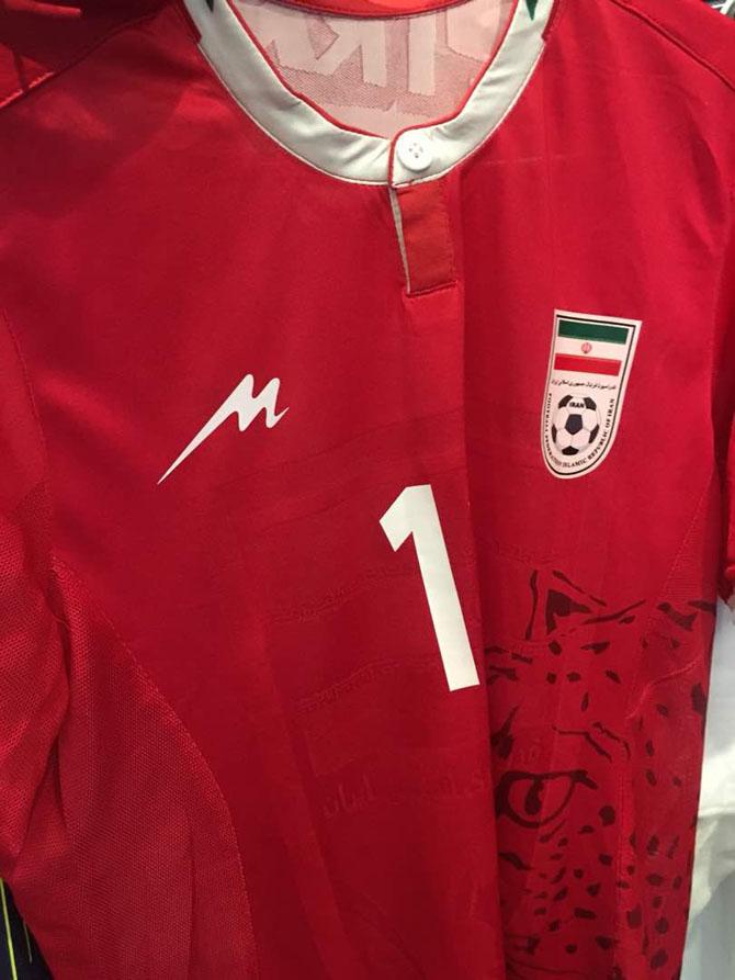 پیراهن تیم ملی امید ایران