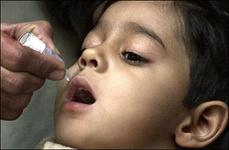 واکسیناسیون فلج اطفال در مشهد