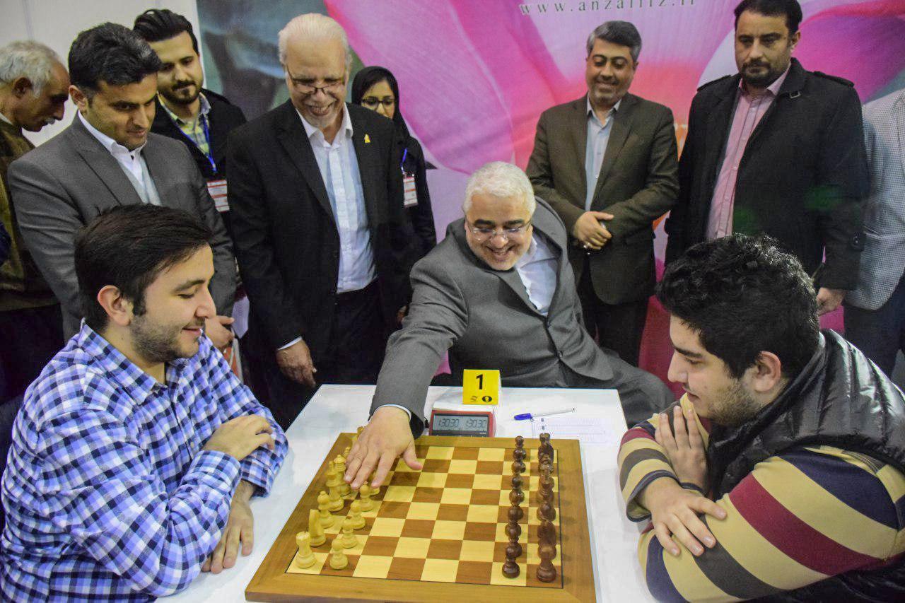 مسابقات شطرنج منطقه آزاد انزلی