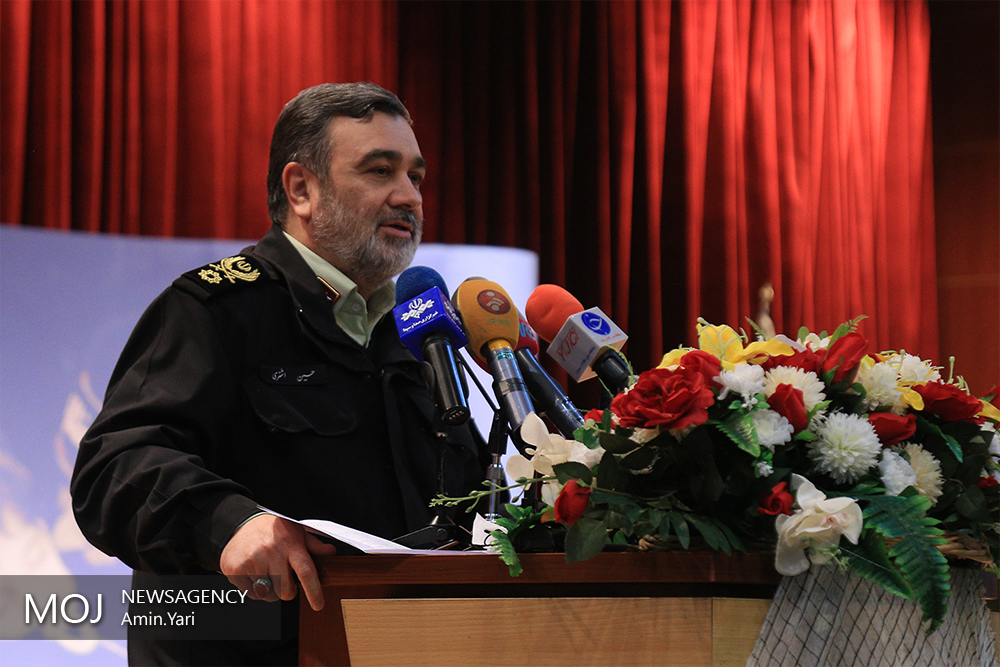 سردار حسین اشتری فرمانده نیروی انتظامی