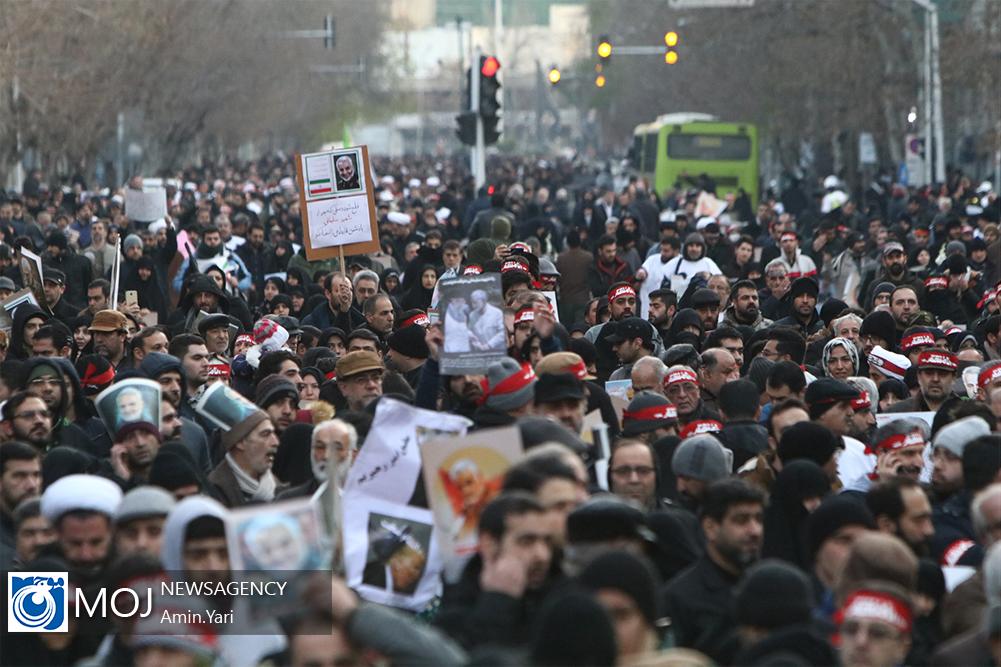 تشییع پیکر سپهبد شهید قاسم سلیمانی در تهران