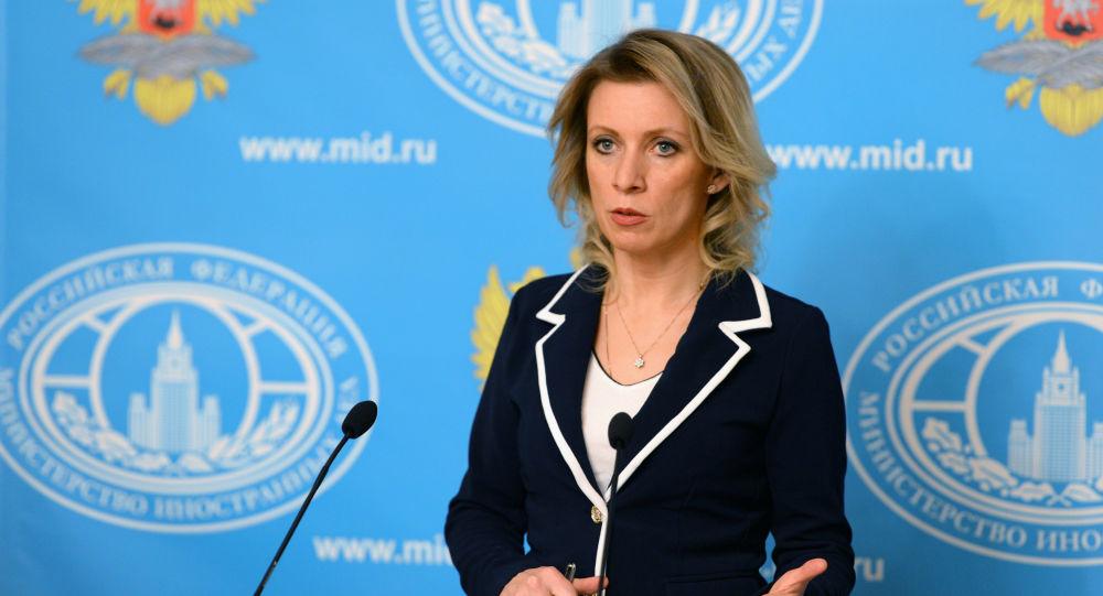 ماریا زاخاروا سخنگوی وزارت خارجه روسیه