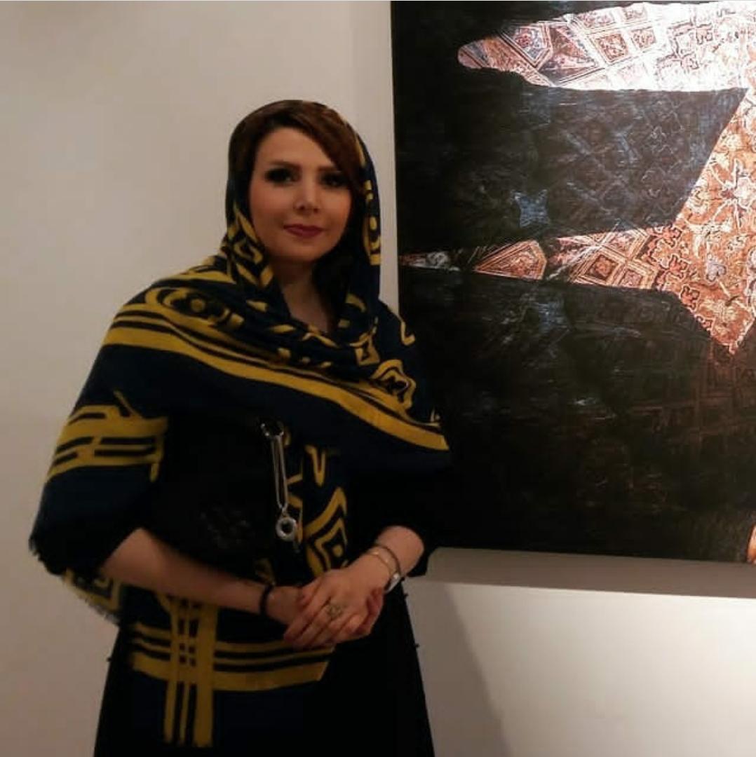 نمایشگاه مجازی آثار مهتاب رخصتی