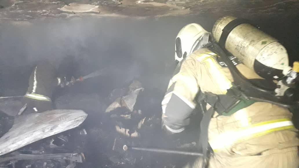 آتش سوزی منزل مسکونی3