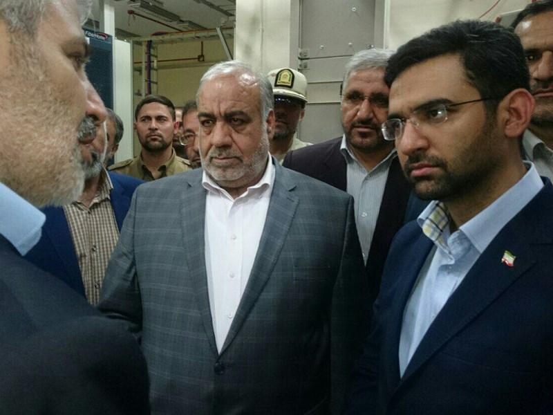 وزیر ارتباطات در کرمانشاه