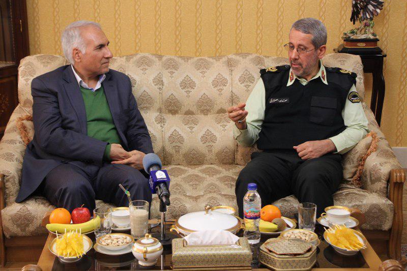 اصفهان- دیدار شهردار با سردار معصومی