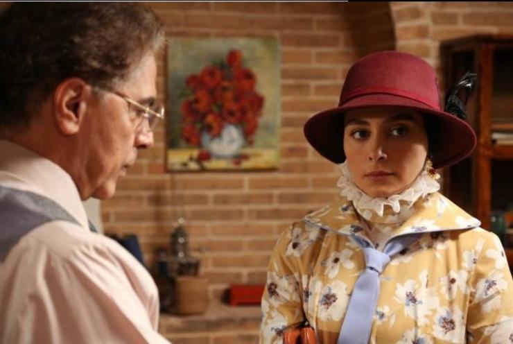 صحنه ای از سریال بوم و بانو