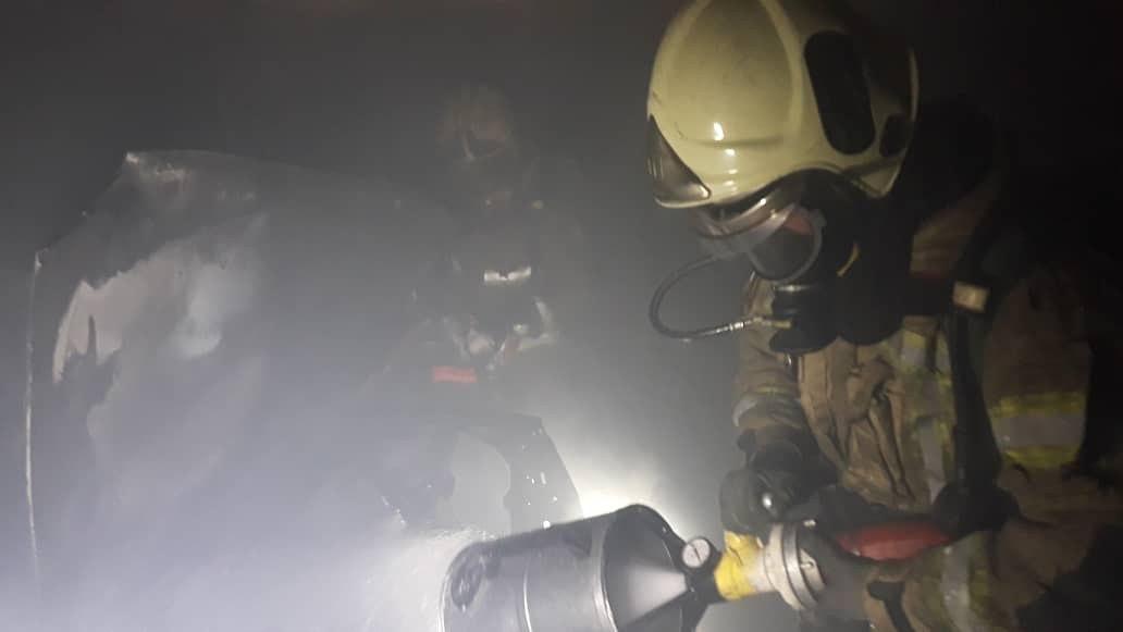 آتش سوزی منزل مسکونی4