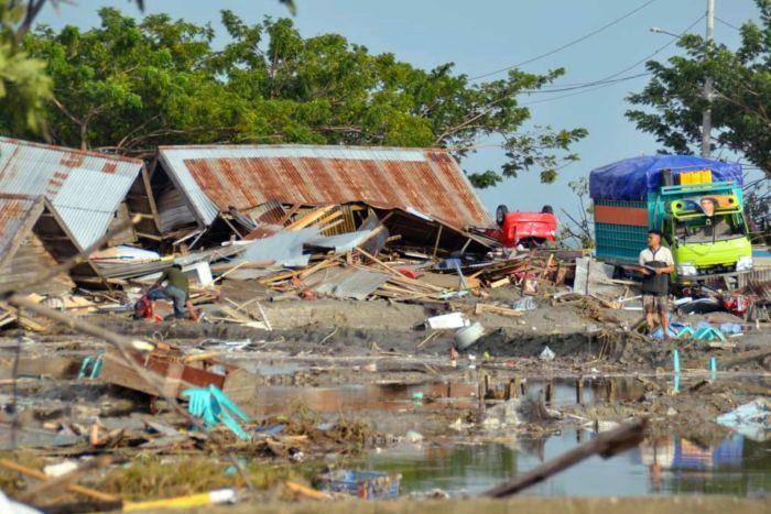 سونامی در اندونزی
