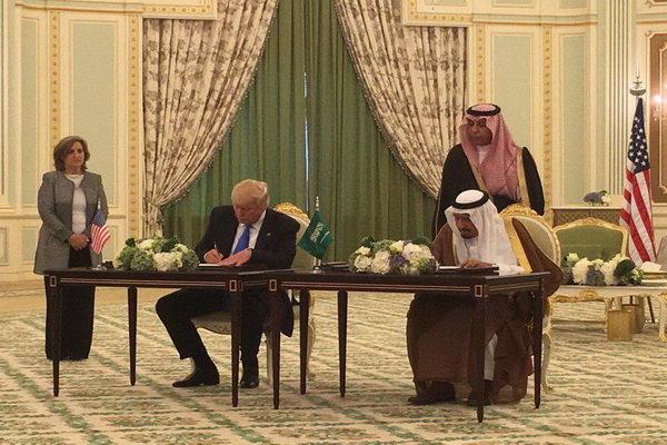 عربستان امریکا