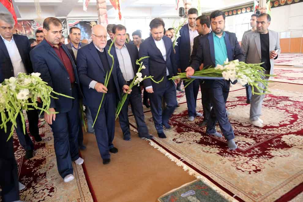 سفر وزیر نفت به یاسوج (3)
