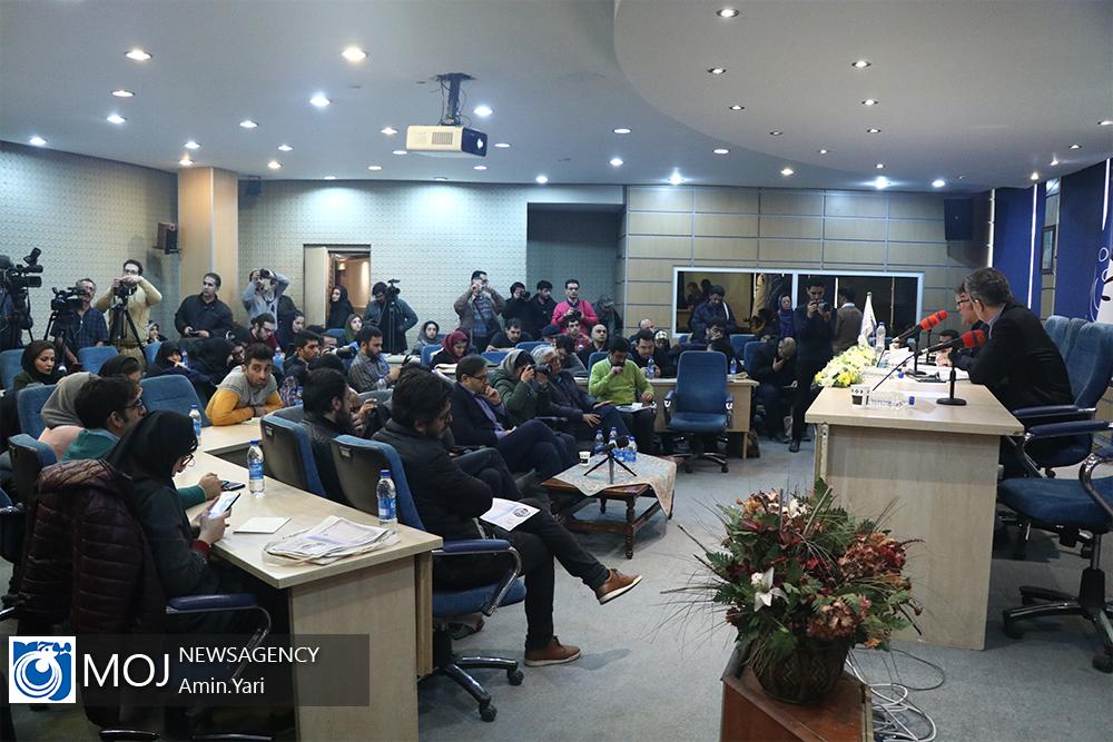 نشست خبری دبیر سی و هشتمین جشنواره تئاتر فجر