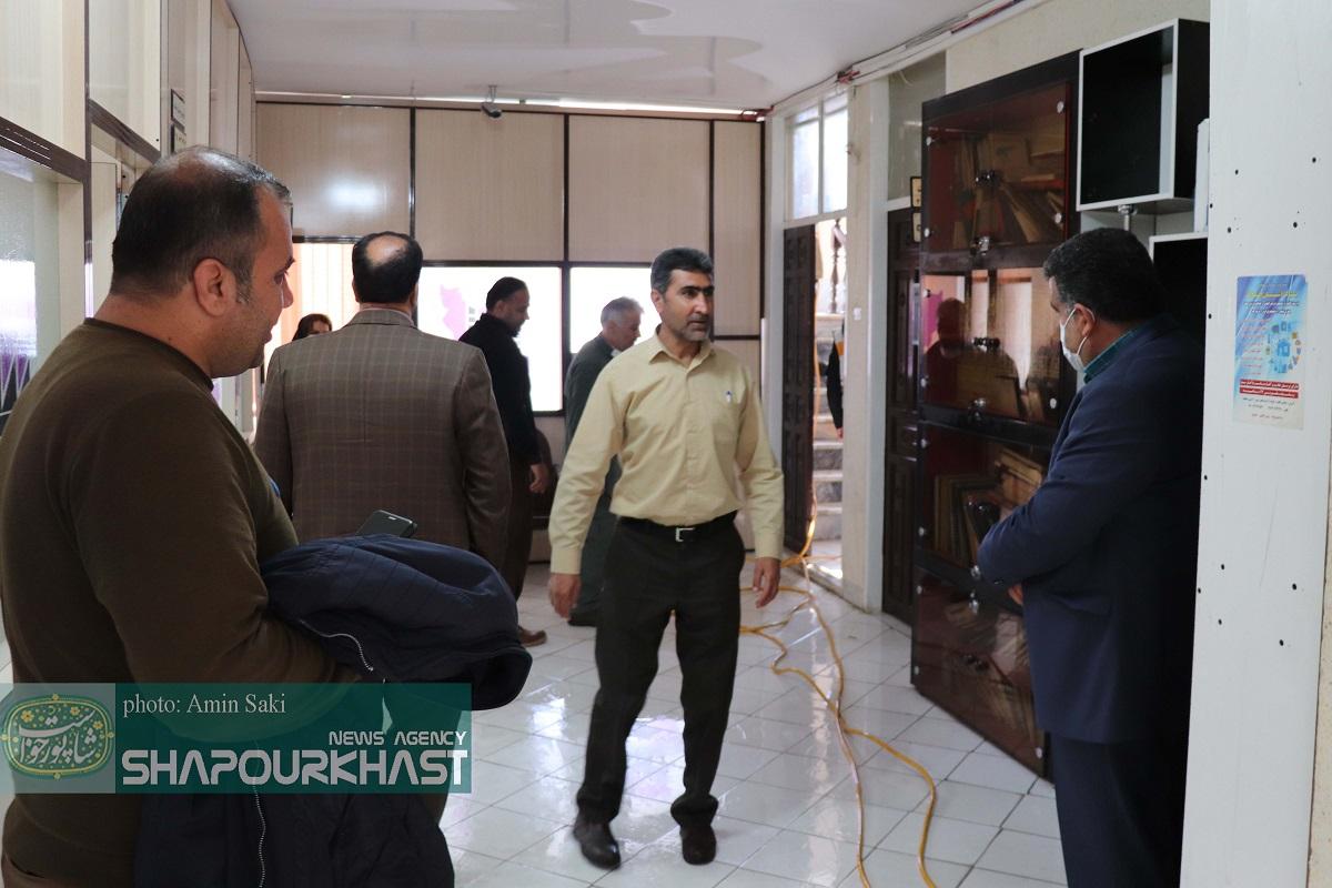 ضدعفونی شرکت شهرکهای صنعتی استان  لرستان