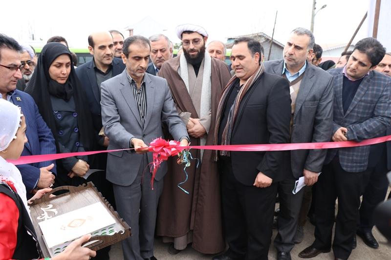 افتتاح طرح های عمرانی رشت
