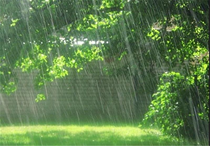 یارش باران در شهرهای شمالی خوزستان