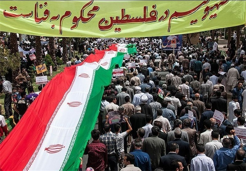 روز قدس در تبریز