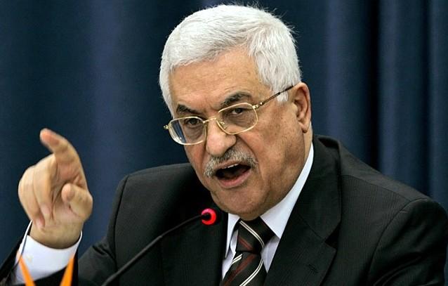 محمود عباس رئیس تشکیلات خودگردان فلسطین