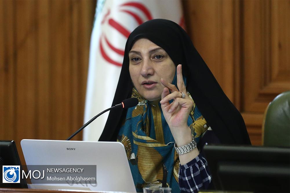 یکصد و هفتاد و پنجمین جلسه شورای شهر تهران / زهرا نژاد بهرام