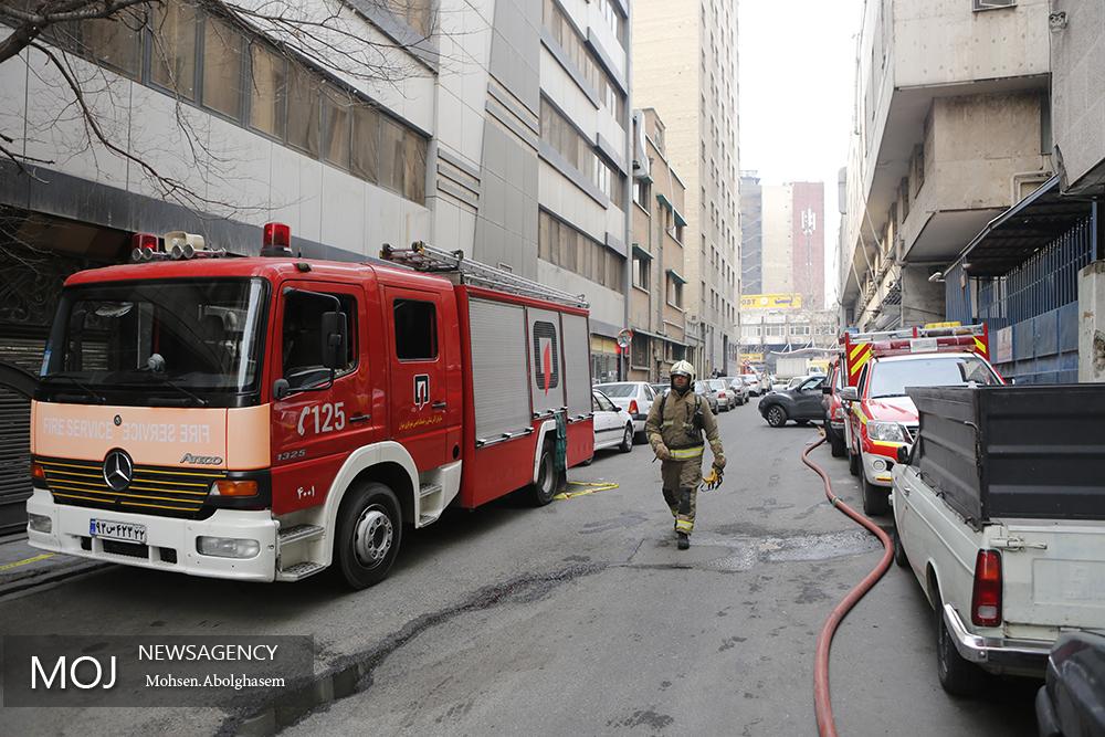 احتمال ریزش ساختمان برق حرارتی وزارت نیرو