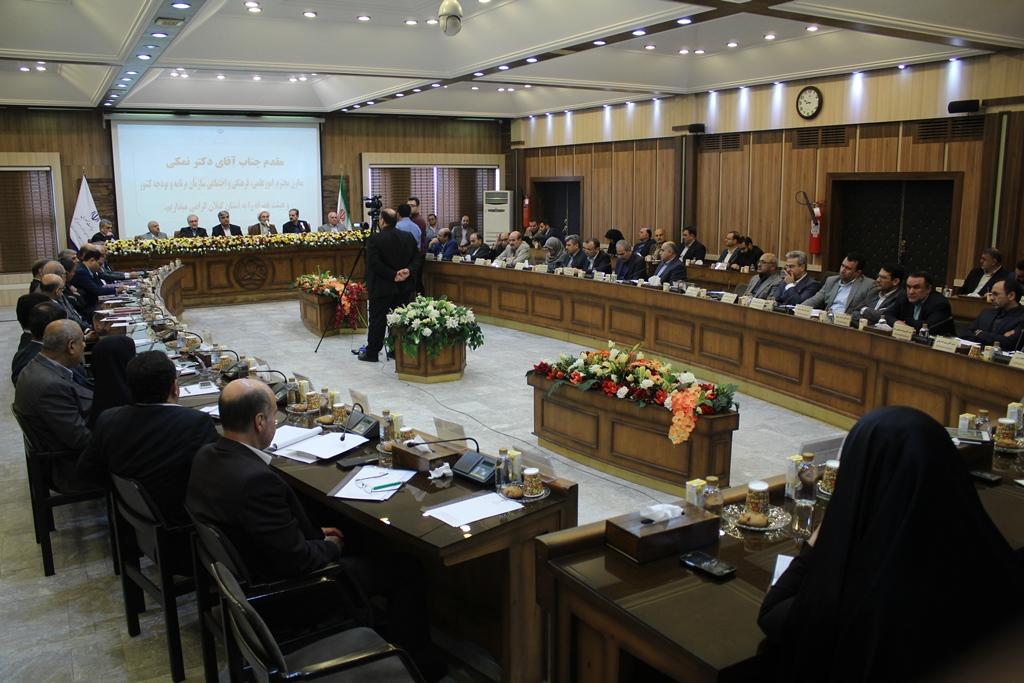 گیلان- جلسه برنامه ریزی و بودجه استانی