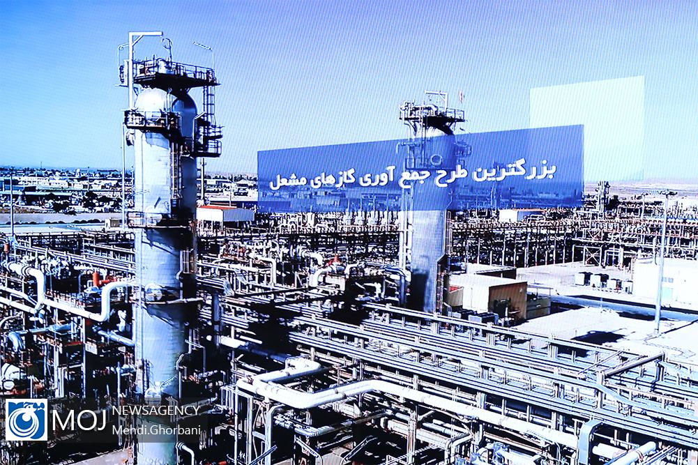 بهره برداری از ۵ طرح وزارت نفت با دستور رییس جمهوری
