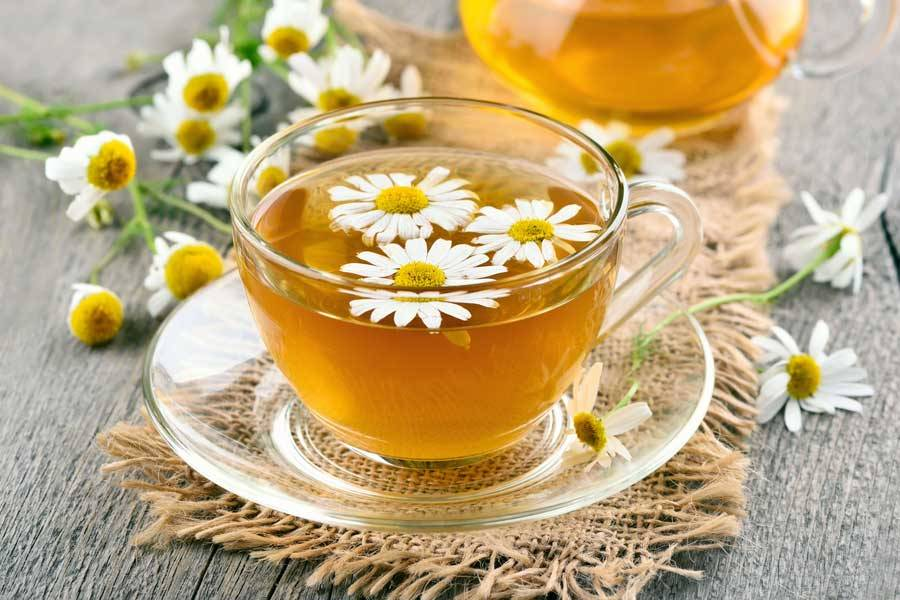 چای بابونه -دم کرده گل بابونه