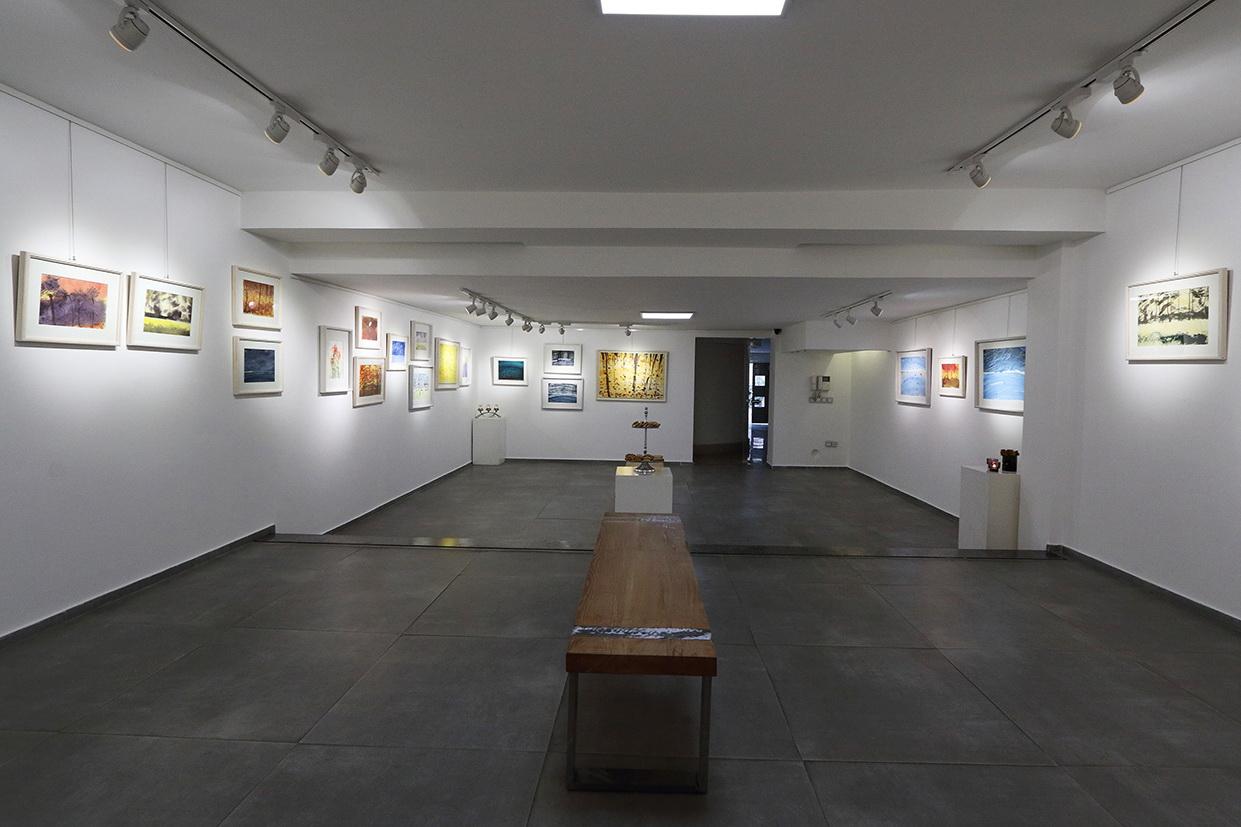 نمایشگاه نقاشی مریم حیدرزاده