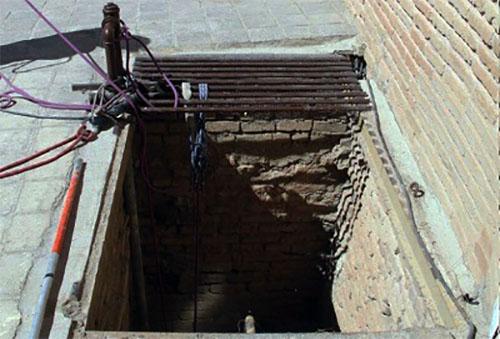 چاه قلعه فلک الافلاک