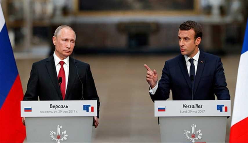 همکاری فرانسه و روسیه در سوریه