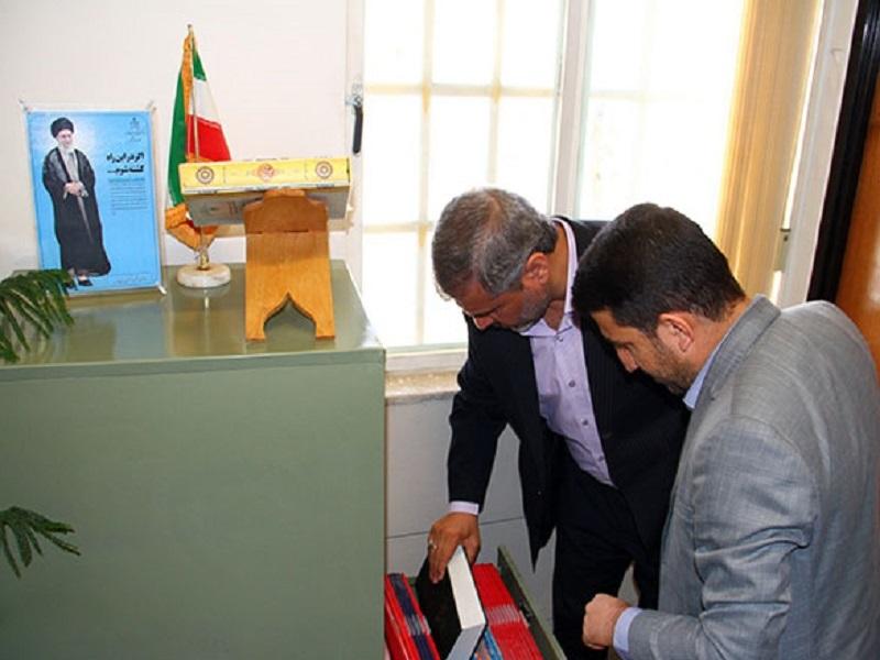 بازدید سرزده رئیس کل دادگستری استان فارس از دادگاه عمومی بخش زرقان 2