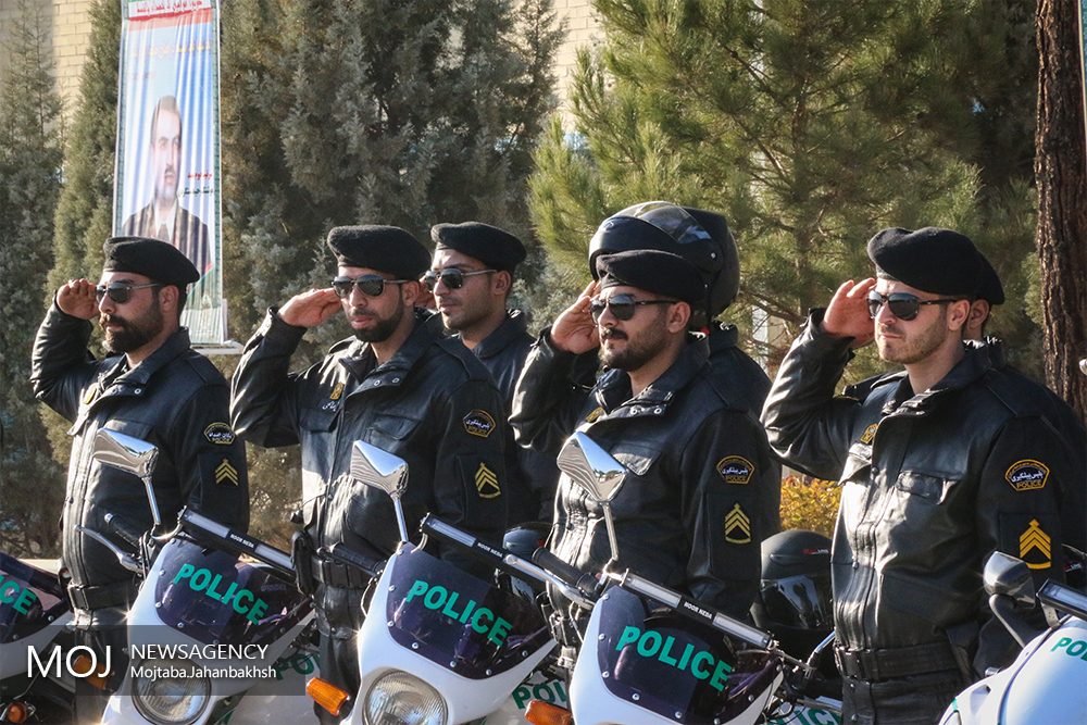 طرح نوسازی ناوگان خودرویی نیروی انتظامی استان اصفهان
