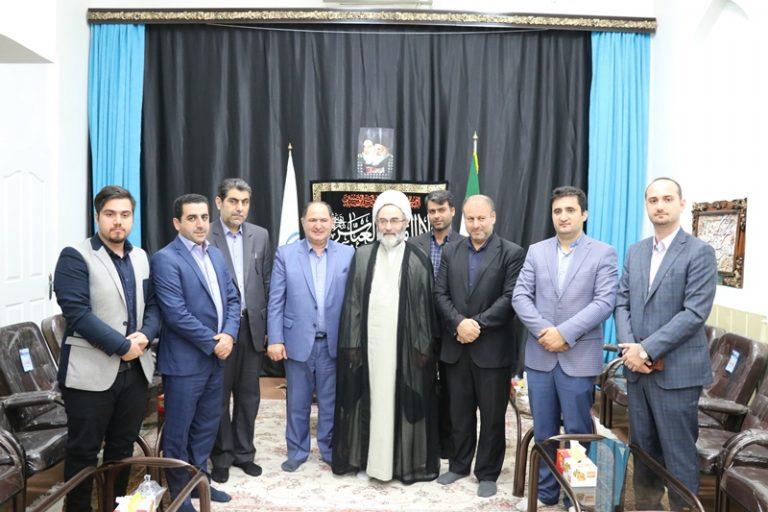 دیدار ایت الله فلاحتی+ با فرماندار رشت